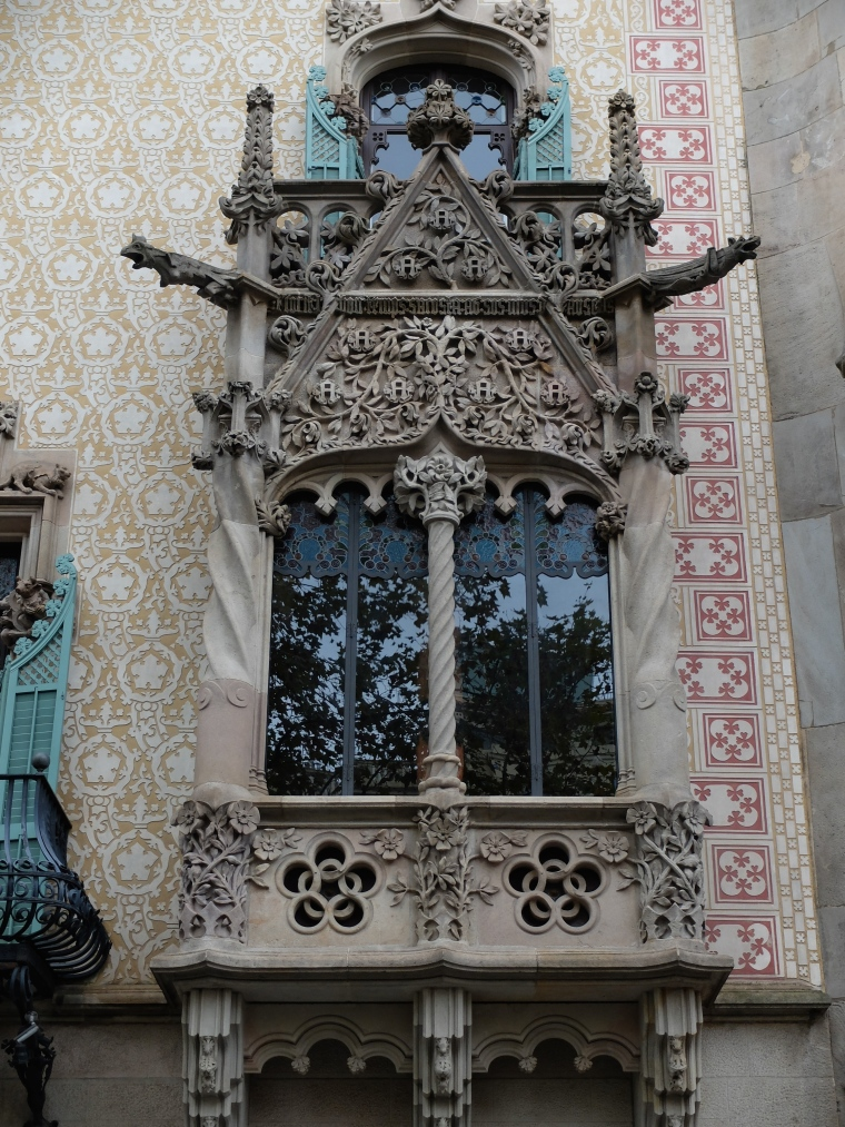 Close-up of the window