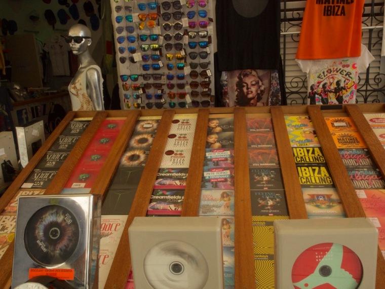 Ibiza music shops
