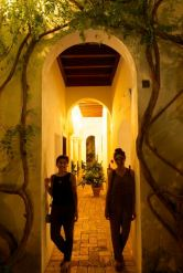 Our rooms shared a courtyard