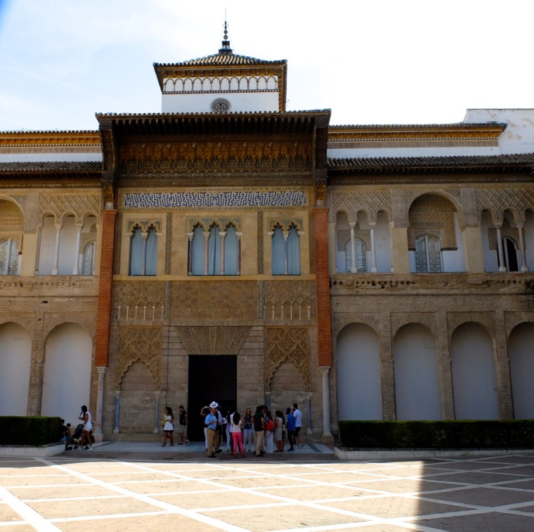 The entrance to the Real Alcazar