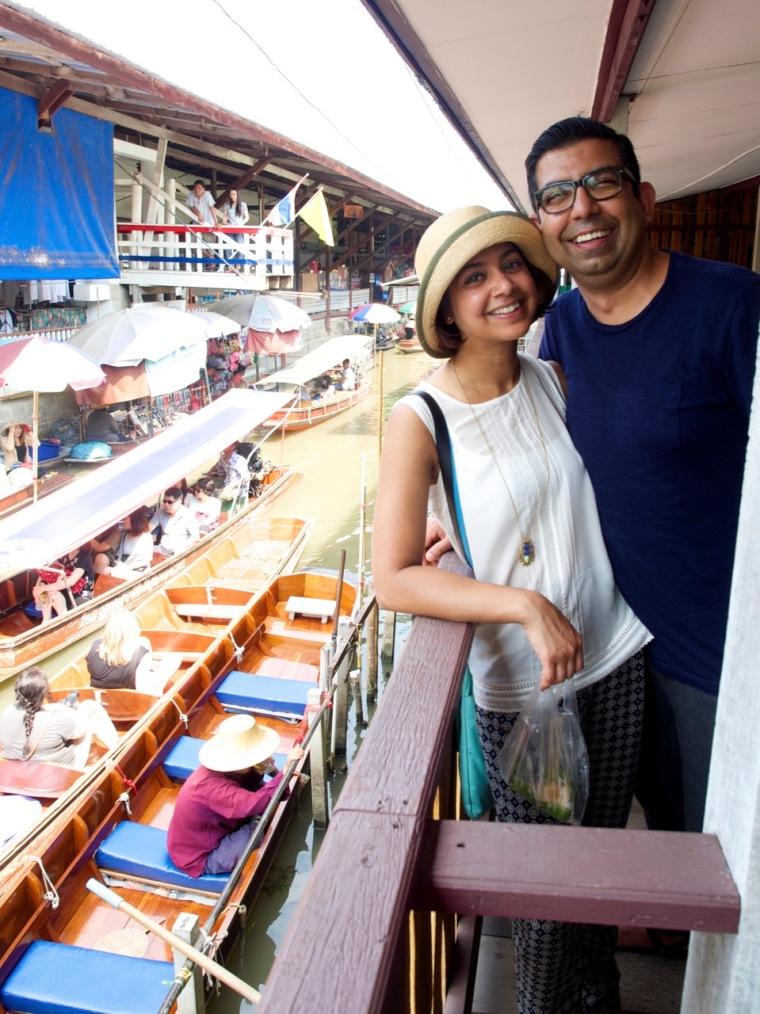 floating market pair